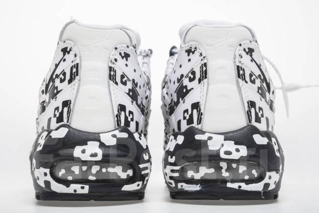 c008bba9 Кроссовки Nike Air Max 95 SE White Black Shoes AQ4139-101 - Обувь во ...