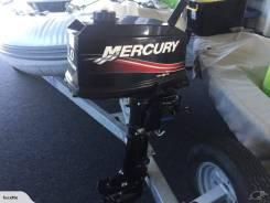 Mercury. 5,00л.с., 2-тактный, бензиновый, нога S (381 мм), 2014 год