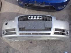 Бампер передний Audi A4 B7 2008 год