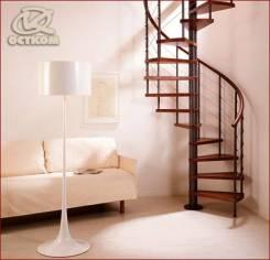 Лестница межэтажная винтовая