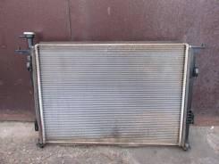 Радиатор охлаждения двигателя. Kia Sorento, UM Двигатели: D4HA, D4HB, G4KE, G4KH, G6DB