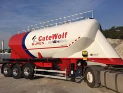 Gutewolf. Цементовоз GuteWolf алюминиевый, 39 000кг. Под заказ
