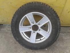 """Комплект колес на НИВУ R-16 ( 215/65 ) зима. 6.0x16"""" 5x139.70 ET40 ЦО 98,6мм."""