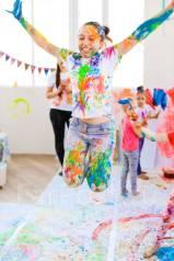 Организация детского Дня Рождения - свободное рисование.