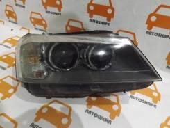 Фара правая BMW X3 2010-2014 оригинал, грязь внутри