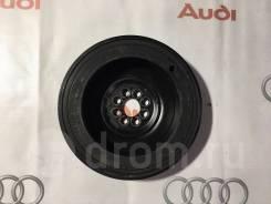 Шкив коленвала. Audi: A6 allroad quattro, A8, Q5, A5, A4, S6, A7, A6, S8, S5, S4 ASB, AUK, BNG, BPP, BSG, ASE, ASN, BBJ, BDX, BFL, BFM, BGK, BGN, BHT...