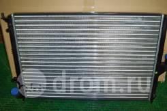 Радиатор SAT RENAULT LOGAN / SANDERO 1.4 / 1.6 с кондиционером 08- / RENAULT DUSTER 1.6 / 2.0 безАС / LADA LARGUS/ L