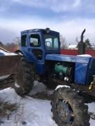 ЛТЗ Т-40АМ. Трактор 4вд+ прицеп