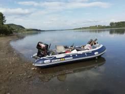 Продам лодку солар420стрела с мотором меркурий30. 2018 год, длина 4,20м., двигатель подвесной, 30,00л.с., бензин