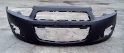 Бампер передний Chevrolet AVEO (T300) 12-
