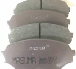 Колодки тормозные дисковые. Isuzu Piazza, JT221F Isuzu Gemini, JT151F, JT191F, JT641F
