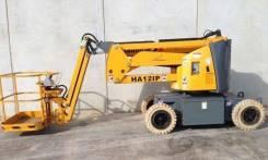 Haulotte HA12 IP. Б/У Самоходный электрический коленчатый подъемник , 12,00м.