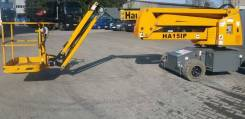 Haulotte HA15 IP. Б/У Самоходный электрический коленчатый подъемник , 15,00м.