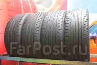 Bridgestone Turanza T001. летние, 2015 год, б/у, износ 30%