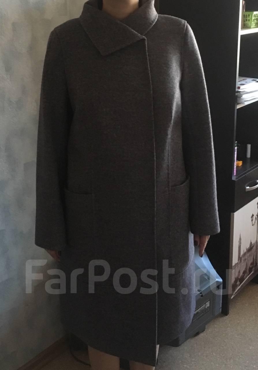 a5802aa0fa1 Пальто женские Размер  52 размера купить во Владивостоке. Весна осень 2019.  Фото! Цены.