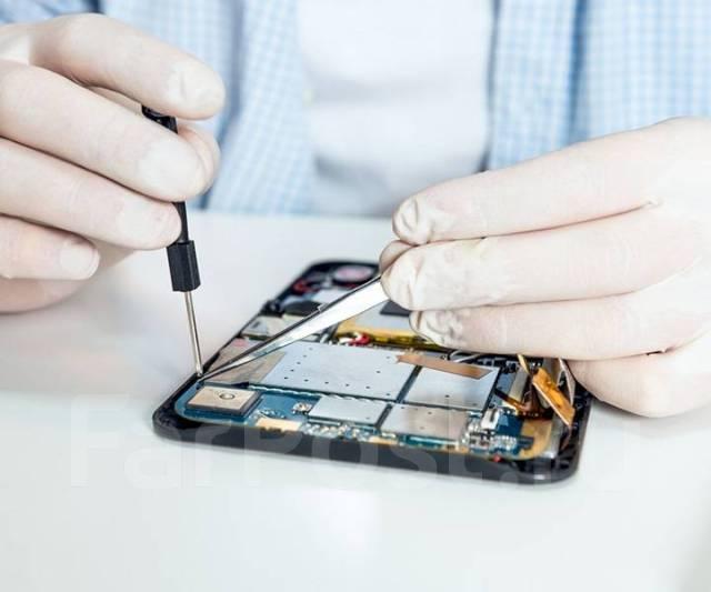 Ремонт планшетов iPad/ Samsung/ Asus/ Huawei/ lenovo - Техника и компьютеры  в Уссурийске