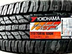 Yokohama Geolandar A/T G015. Летние, 2019 год, без износа, 4 шт