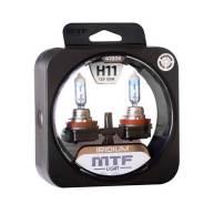 Лампа Н11 12v, 55w, Серия Iridium 4100к (К-Т 2 Шт) MTF Light арт. HRD1211