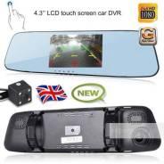 Видеорегистратор-зеркало L1001M (2 камеры, Full HD). Бесплатная доставка