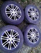 Комплект колёс 195/65R15 на литых дисках(4x100). Б/У.