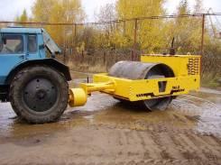 Завод ДМ. Каток вибрационный прицепной DM-08 (масса 9 т., ширина вальца 2000 мм.