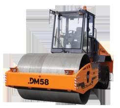 Завод ДМ. Каток дорожный комбинированный вибрационный DM-58