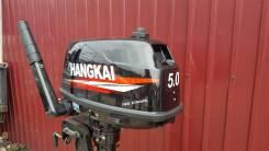 Hangkai. 5,00л.с., 2-тактный, бензиновый, нога S (381 мм), 2018 год