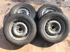 Летний комплект колёс на Ваз R-13