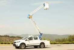 Donghae. Автовышка DHA 102AP, 2 200куб. см., 10,20м.