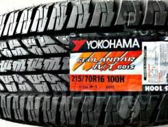 Yokohama Geolandar A/T G015. Грязь AT, 2019 год, без износа, 4 шт
