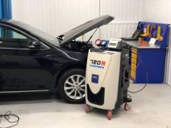 Диагностика, заправка и ремонт автокондиционера на станции ТЕХА