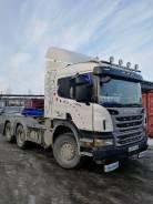 Scania P440. Тягач Скания, 6x4