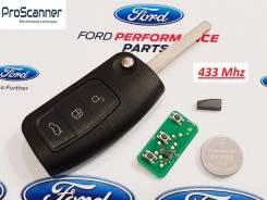 Ключ зажигания, смарт-ключ. Ford: Focus, Galaxy, S-MAX, Fiesta, Mondeo Двигатели: AODA, AODB, AODE, ASDA, ASDB, G6DA, G6DB, G6DD, G8DA, GPDA, GPDC, HH...