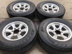 """Достойные летние колеса 265/70R16 Dunlop + диски Weds Keeler 6x139.7. 7.0x16"""" 6x139.70 ET26"""