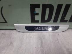 Накладка на порог jaguar s-type, задняя