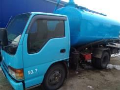 Isuzu Elf. Продам ассинизаторский грузовик Isuzu ELF, 4 300куб. см.