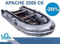 Лодка ПВХ Apache 3500. 2019 год год, длина 3,50м.