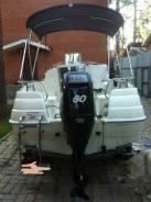 Quicksilver. 2012 год год, длина 4,30м., двигатель подвесной, 60,00л.с., бензин