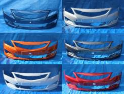 Бампер. Hyundai Solaris, HCR, RB Двигатели: G4FA, G4FC, G4LC