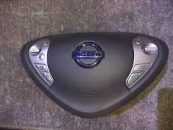 Подушка безопасности водителя. Nissan Leaf, AZE0, ZE0 Двигатели: EM57, EM61