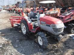 Yanmar. Трактор 18л. с., Реверс, 3 цилиндра, 4wd, ВОМ, навеска на 3 точки, 18 л.с.