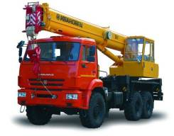 Ивановец КС-35714К-2. Кран КС-35714К-2 на шасси Камаз-43118, 18,40м. Под заказ