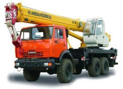 Ивановец КС-35714К-2. Кран КС-35714К-2-10 на шасси Камаз-43118, 22,70м. Под заказ