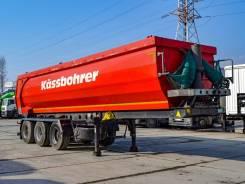 Kassbohrer. Самосвальный полуприцеп DL 32 м3 2015 г/в, 30 900кг.
