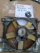 Вентилятор охлаждения радиатора. Nissan Primera, P10E Двигатели: CD20, GA16DE, GA16DS, SR20DE, SR20DI