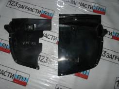 Защита заднего бампера левая Mitsubishi Pajero V75W