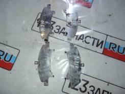 Пластины передних тормозных колодок ( КОМПЛЕКТ ) Nissan Qashqai NJ10