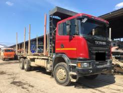 Scania G480. Продам сортиментовоз , 6x4