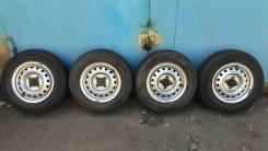 Продам комплект колес с летней резиной 165R13LT.