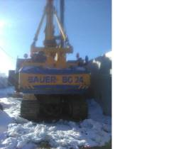 Bauer BG-24. Буровая машина Bauer BG24, 9 000куб. см., 6 000кг.